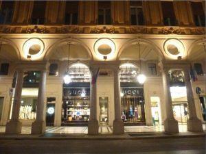 Torino e i grandi negozi monomarca